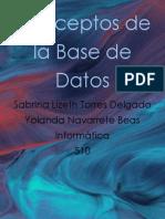 Conceptos de la base de Datos