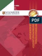 Nyenrode International MBA 2010 - Brochure