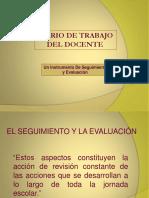Diario de Trabajo Del Docente