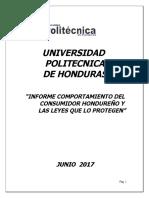 001 Informe Consumidor Hondureño Junio 2017 Tarea Politecnica