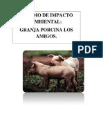 Estudio Impacto Ambiental Granja Los Amigos.