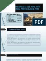 Contaminacion Por Material Particulado