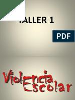 1. Taller Docentes-Violencia