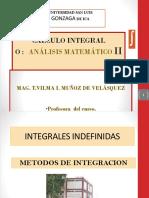 CÁLCULO INTEGRALy  DIFERENCIAL