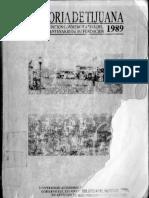 Historia de Tijuana 1889 a 1989 Tomo 1