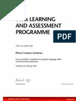 Certificado ICAEW