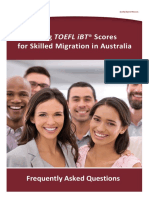 TOEFL Faq Skilled Migration Hp Ac Ada