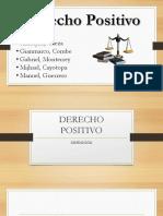 Derecho Positivo Trabajo