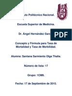 Concepto y Formulas de Tasa de mortalidad y morbilidad..docx