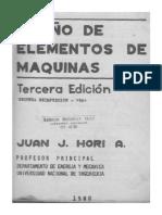 Diseños de Elementos de Maquinas - HORI