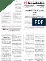Buletin Rumaysho Muslimah Tafsir Surah an Nuur Edisi 10