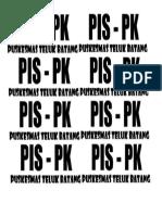 TOPI PIS PK