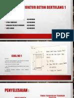 Tugas 2 – Struktur Beton Bertulang 1
