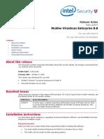 VSE 8 8 Hotfix1159675 Release Notes