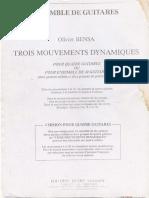 Tres movimientos dinamicos - Biensa