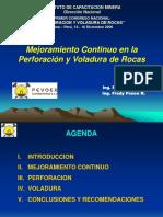 Mejoramiento Contínuo en La Perf. y Vol. PEVOEX