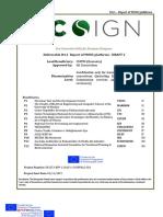 Ecosign Deliverable D4.1 Report of MOOC Platforms DRAFT v.2
