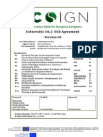 Ecosign Deliverable d4.2 -Oer Agreement Final
