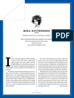 Mika Rottenberg interviewed by Ross Simonini