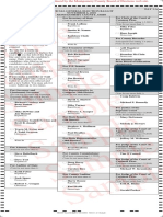 Sample Ballot for Dayton voters