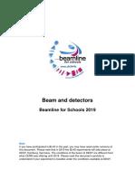 Bl4s Beams and Detectors 2019