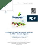 Kuznets Para Las Emisiones de CO2 Para El Caso de Espana