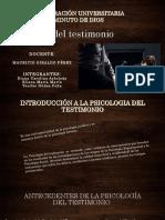 Psicologia Del Testimonio (1)