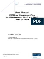 EAM Data Management Tool
