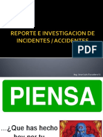 Reporte e Investigacion de Incidentes