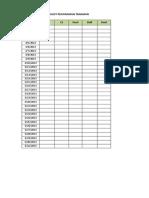 Checklist Tanaman Agst 2013