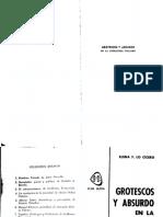 3132-F.lo Cicero, Elena - Grotesco y Absurdo en La Literatura Italiana