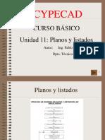Curso Basico Cypecad 11-Listados y Planos
