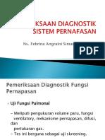 pemeriksaan diagnostik paru