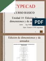 Curso Basico Cypecad 10-Edicion de Armados
