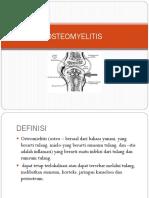 Presentasi Osteomilitis