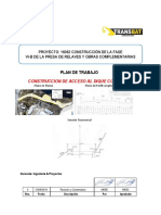 Plan de Construcción de Acceso a Dique Corredor - Rev2