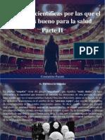 Constantino Parente - 10 Razones Cientificas Por Las Que El Teatro Es Bueno Para La Salud, Parte II