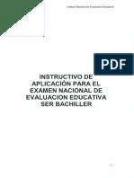 Instructivo de Aplicación Ser Bachiller