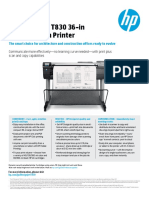 HP T-830 36'' Brochure01