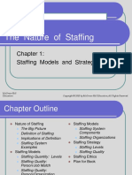Staffing Model and Strategy