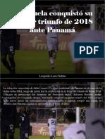 Leopoldo Lares Sultán - Venezuela Conquistó Su Primer Triunfo de 2018 Ante Panamá (1)