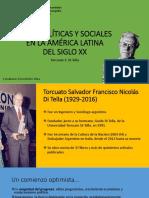Ideas Políticas y Sociales en La América Latina