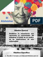 Alzheimer enfermedad mental degenerativa