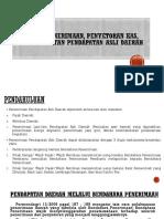 Prosedur Penerimaan, Penyetoran Kas, Dan Pencatatan dalam akuntansi pemerintahan daerah