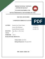 Compuertas Hidraulicas Proyecto . Docxx