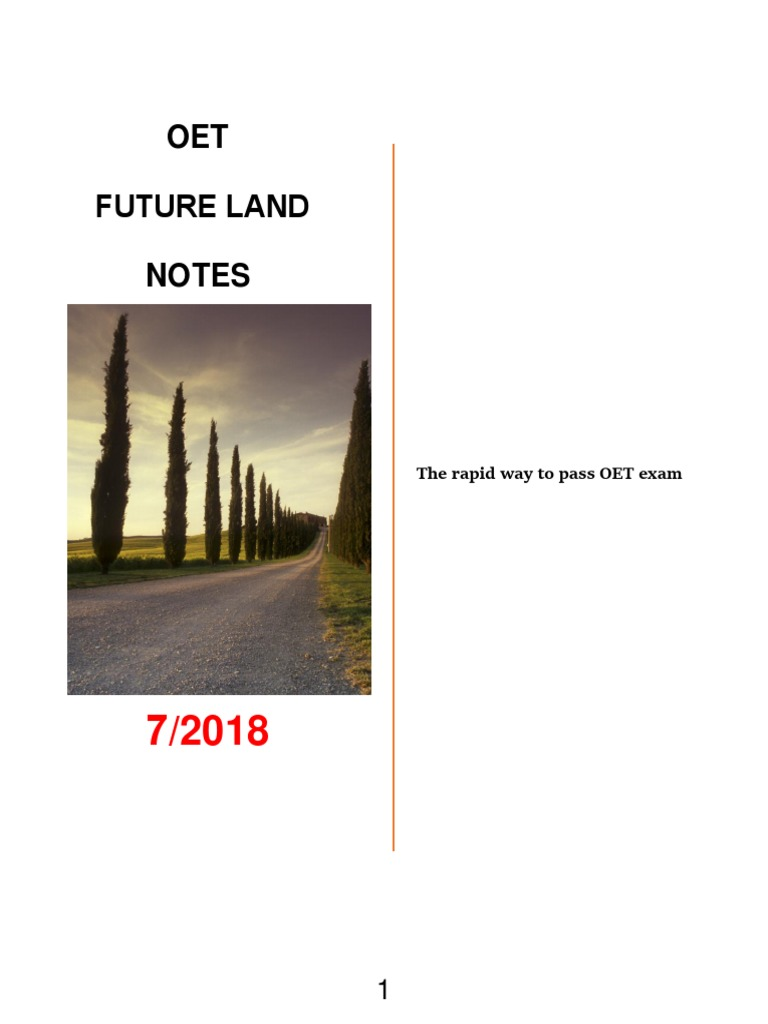 6d740ec66 OET Future Land Full Book Final Edition July 2018 | Grammatical Number |  Noun