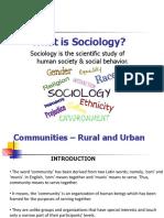 2 - Sociology
