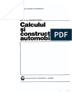 CCAR - Calculul Si Constructia Automobil