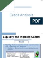 FSA 3 Credit Analysis
