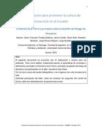 Fenomenología en Ecuador y el mundo